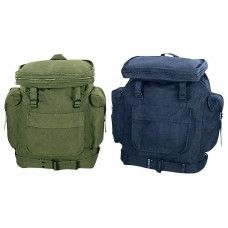 Rothco Olive Drab or Navy European Canvas Backpack