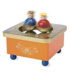 $17 Dancing Royals Wooden Music Box