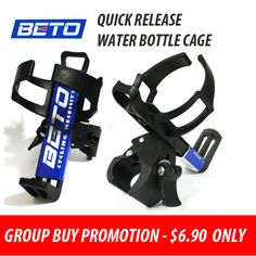 d496f63a2965 Qoo10 -  BIG DISCOUNT  BETO QUICK RELEASE WATER BOTTLE CAGE - For foldie and