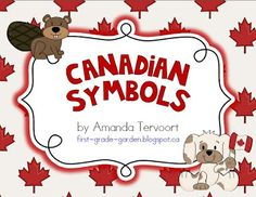 This is a fun Social Studies unit for studying Canadian symbols. Here's what is included: p. -- What is a symbol? (poster and writing page) p. Canadian Culture, Canadian History, Canadian Art, Canadian Maple, Canadian Social Studies, Teaching Social Studies, Primary Teaching, Teaching Ideas, School Themes