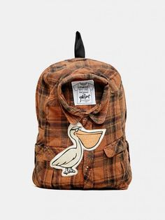 Yokishop Jet Plane Backpack - Is that shirt in your bag or a bag in your shirt?