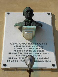 lapide a Giacomo Matteotti - Fratta Polesine by Pivari.com, via Flickr