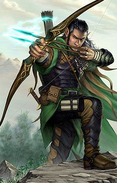 Elf fighter Player: Mitch Character: Sal'andar Alignment:  Profession: Fletcher