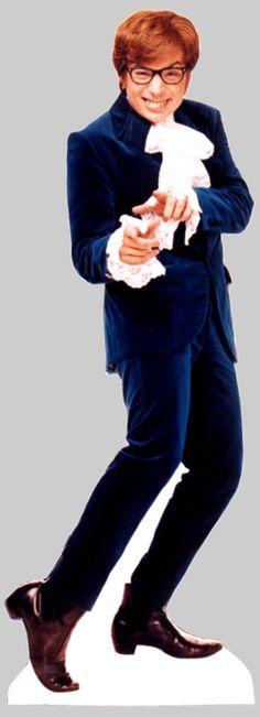 Austin Powers Life Size Movie Stand-Up.  Shagadelic man!!!