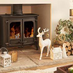 Grandeur - Gold, silver & white christmas baubles - Homebase