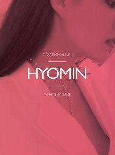 "T-ARA 13th Mini Album ""What's my name?"" HYOMIN Ver CD+Photobook+Photocard+Poster #Pop"