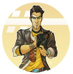 I want Handsome Jack's wrist tattoo. I better think on it for at least a year though, because I'm hella biased obsessing over Borderlands right now. I DID already know that I wanted forearm bands, though, and now this gives me a design.
