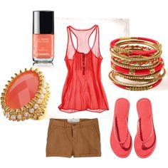 More Coral., created by karrina-renee-krueger.polyvore.com