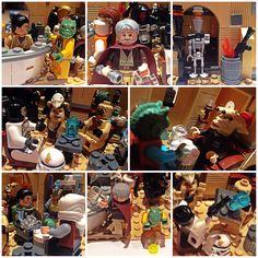Lego Star wars Mos Eisley Cantina Moc
