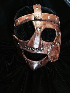 WWE Mankind, Mick Foley mask. Attitude era leather mask title belt