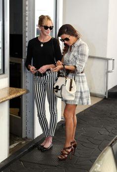 melanie griffith hudson striped jeans