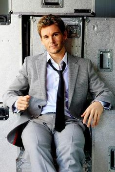 Ryan Kwanten (Using a half naked picture of him just would have been too easy. HA HA)