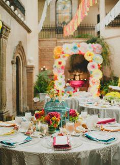 Colorful Mexican Fiesta Wedding