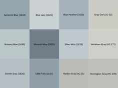 Gray Colors Inspiration Benjamin Moore's Perfect Gray Paint Colorsbenjamin Moore Storm Design Inspiration