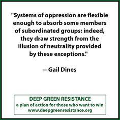 deep green resistance - Gail Dines