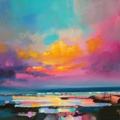 Painted skies by Scott Naismith