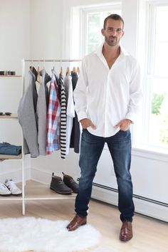 men's fall fashion - capsule wardrobe 2019 - pinteresting plans fashion blog Capsule Wardrobe Men, Fashion Capsule, Patagonia Sweater Jacket, Minimal Wardrobe, Next Clothes, Mens Fall, Fall Fashion, Mens Fashion, Long Sleeve Tops