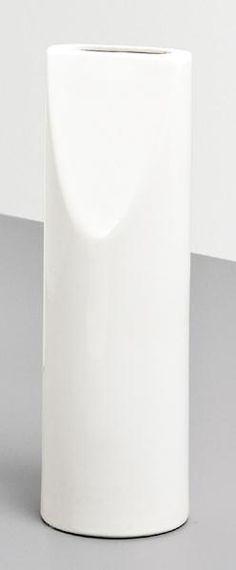 """""""A Fischietto"""" vase, model no. 591, Produced by the Società Ceramica Toscana for Galleria Il Sestante, Italy. Underside signed in marker with """"SOTTSASS/IL/SESTANTE/591/ITALY."""" 1962"""