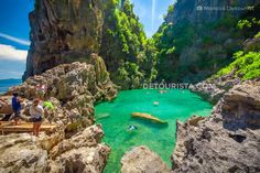 Tangke Lagoon in Gigantes Sur Island, Carles, Iloilo, Philippines. Photo by Marcos Detourist.