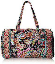 16d477cb6 Amazon.com: Vera Bradley Womens Large Duffel African Violet Duffel Bag:  Vera Bradley: Shoes