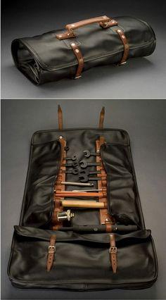 Bob Smith Coachworks Leather Tool Roll