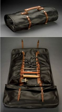 Bob Smith Coachworks Leather Tool Roll