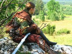 Going crazy over the details put into this outfit, I wish I had that much details on my own larping costume.