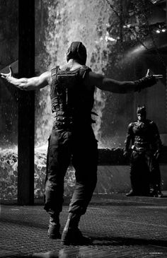 """...That is why the shadows betray you, because they belong to me.""..tom hardy as bane ..sexyyy"