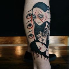 This body art tattoos are cute tattoos. Tattoo designs usually aesthetic tattoo. Small tattoos can also be cool tattoos. Do you love this beautiful Tokyo ghoul tattoo of Tomie junji ito? Do you wanna get a cool tattoo from comic?Try it now! #Tomie #Tattoos #Comic #Junji