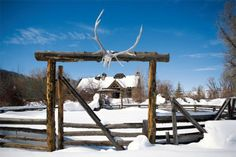 Two Rivers Ranch, Steamboat Springs, CO. A picturesque mountain retreat. #western #ranch
