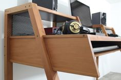 A sutio desk i ve designed for my own home studio produced in