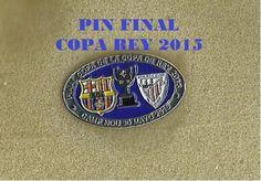 PINS PIN FINAL COPA DEL REY 2015 FC BARCELONA  -  AT BILBAO