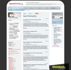 Speed Thinking website