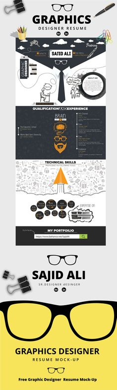 查看此 @Behance 项目: \u201cResume Mock-Up\u201d https://www.behance.net/gallery/50525825/Resume-Mock-Up