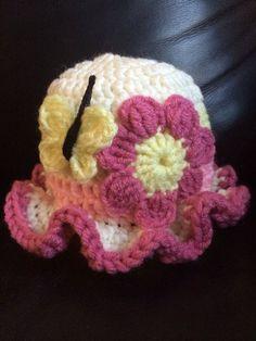 Crochet Baby Hat, Baby Hat, Baby Girl Hat, Newborn Hat, Baby Shower Gift, Baby…