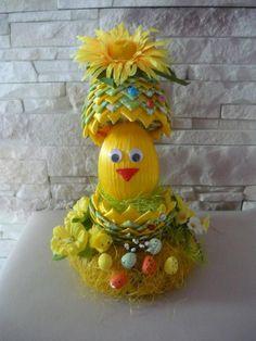 Velkonočne vajička - zeleno-žlte vajičko