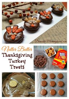 New Nutter Butter Sandwich Cookie Thanksgiving Turkey Treats. This fantastic and easy Thanksgiving Turkey Treats will make a great after school snack