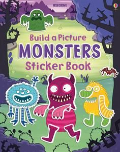 Show details for Build a Picture Monsters Sticker Book