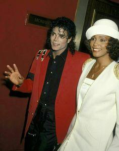 Michael Jackson and Whitney Houston, 1988