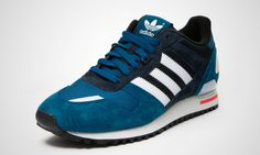 07399a80e643f ZX 700 ADIDAS ORIGINALS TRAINERS FOR MEN IN TRBLME RUNWHT LEGINK - ADIDAS  ORIGINALS - MelMorgan Sports