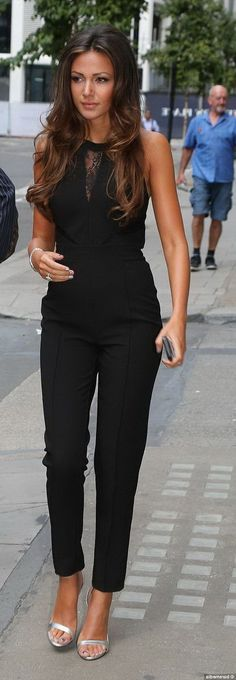 Would love to pull off a black jumpsuit
