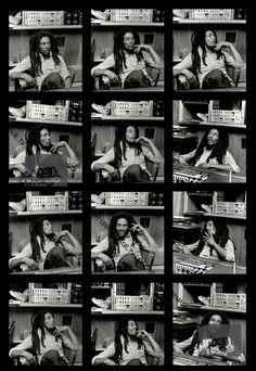 Contact Sheet: Bob Marley