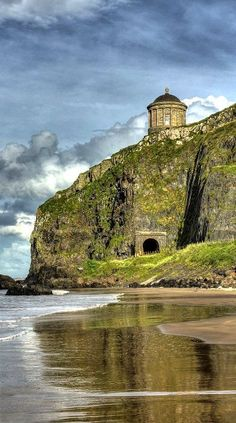 Mussenden Temple, Castlerock, Northern Ireland | Flickr - Photo by Glenn Cartmill Travel and see the world