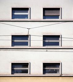 "Palazzo per uffici ""Gualino"", Gino Levi Montalcini, Giuseppe Pagano Pogatschnig. © Angelo Morelli Rationalism, Angelo, Garage Doors, Italy, Outdoor Decor, House, Home Decor, Italia, Decoration Home"