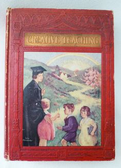 1930 Creative Teaching Book with Extra Surprise by woodzel on Etsy, $28.00