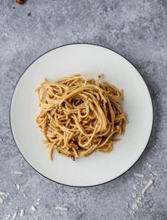 butternut squash spaghetti carbonara I howsweeteats.com