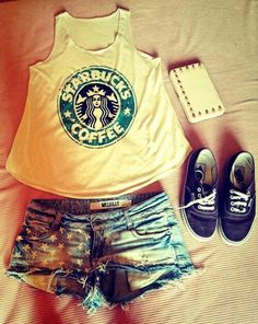 Amazing starbucks outfit!!