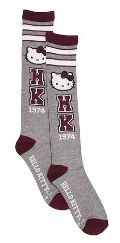 Hello Kitty #Varsity Knee #Socks from Loungefly xoxo