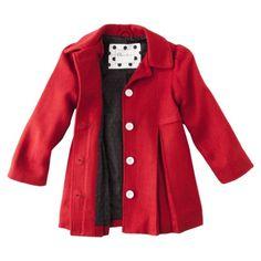 Cherokee® Infant Toddler Girls' Wool Jacket