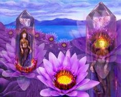 """""""Transformation"""" Shakti Healing Art Yoga Thoughts, Angel Cards, Soul Art, All Things Purple, Digital Collage, Gaia, Mother Earth, Golden Age, Art Quotes"""